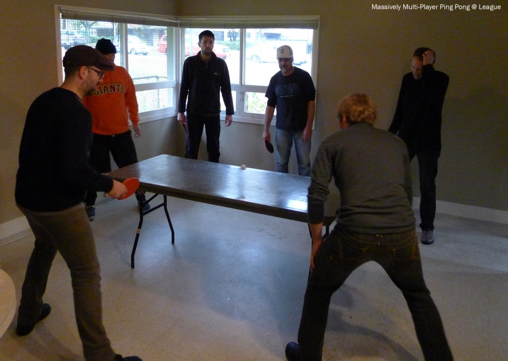 Massively Multi-Player Ping Pong